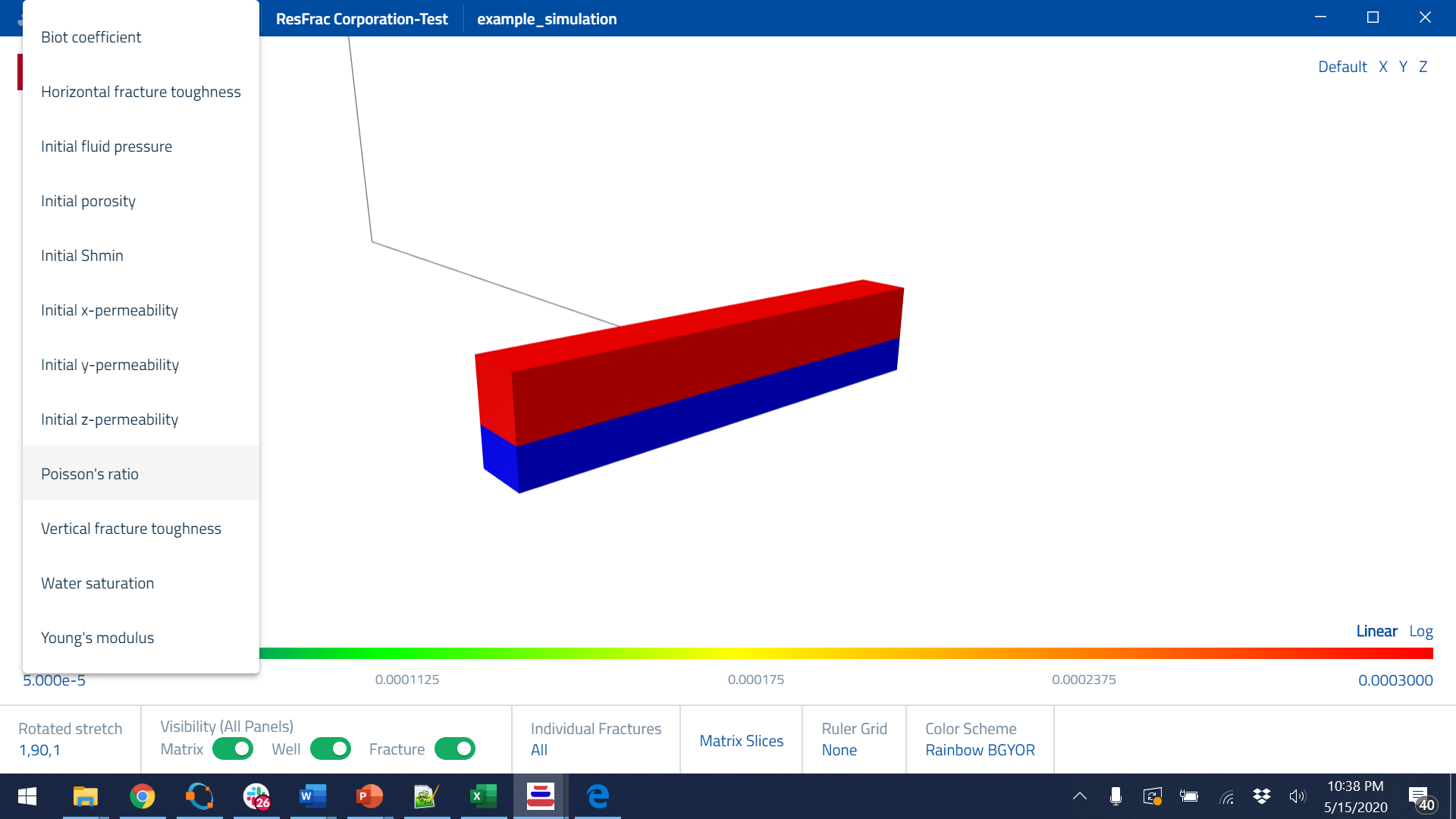 3D ResFrac Model Preview