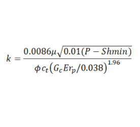 Holistic permeability correlation