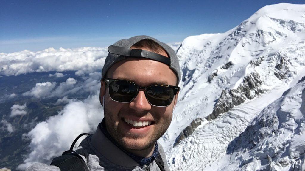 Chris mountaintop