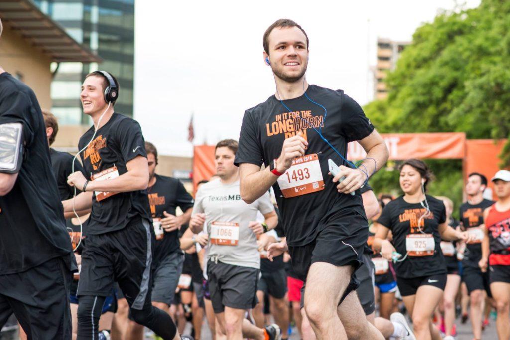 Chris running