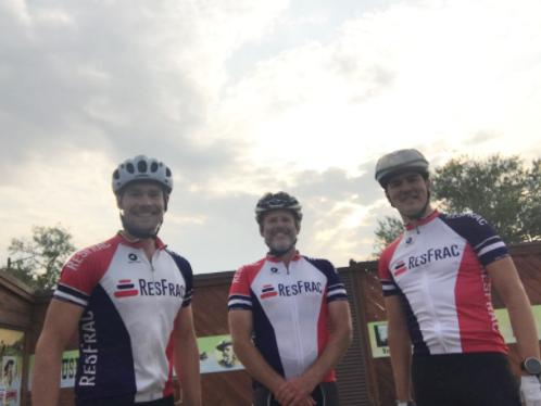 ResFrac endurance crew Garrett, Dave, and Egor